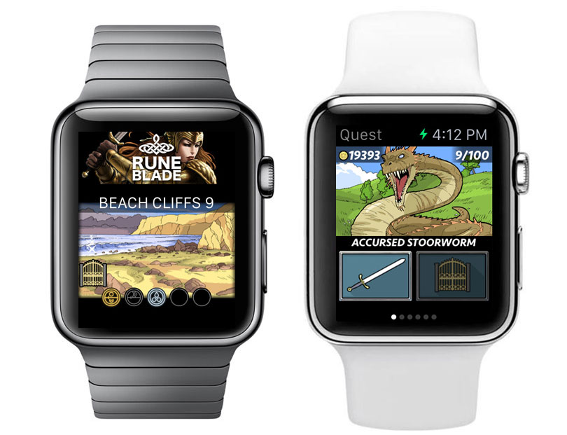 Roleplay Runeblade was released exclusively for the Apple Watch [video]