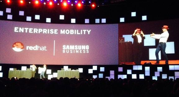 Samsung has enlisted the support of Red Hat to combat Apple and IBM Alliance