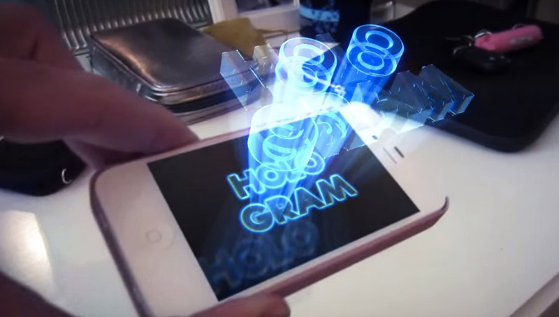 Голограмма телефон своими руками