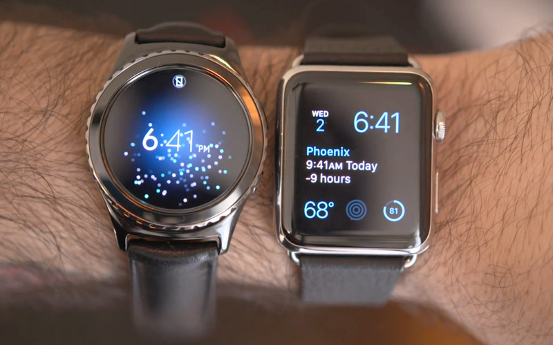 Watch vs. Samsung Gear S2: review and compare smart watch [video]