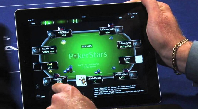 How to play poker online on iPhone, iPad and iPod touch
