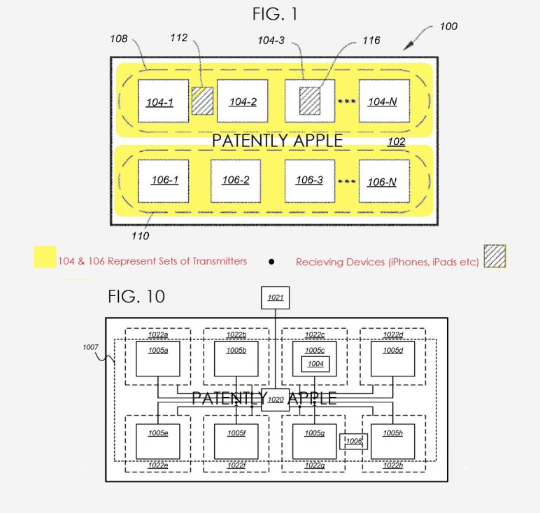 Apple has patented a table with built-in wireless charging