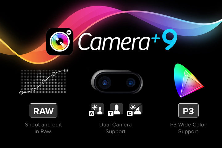 A photo app Camera+ got support for dual cameras iPhone 7 Plus and the RAW format