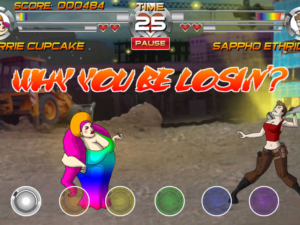 In The App Store Came The Game In Which Gays And Lesbians Are Fighting Each Other Video