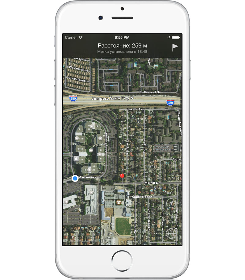 """Remember place"": an app for finding your car in the Parking lot [+5 promo]"
