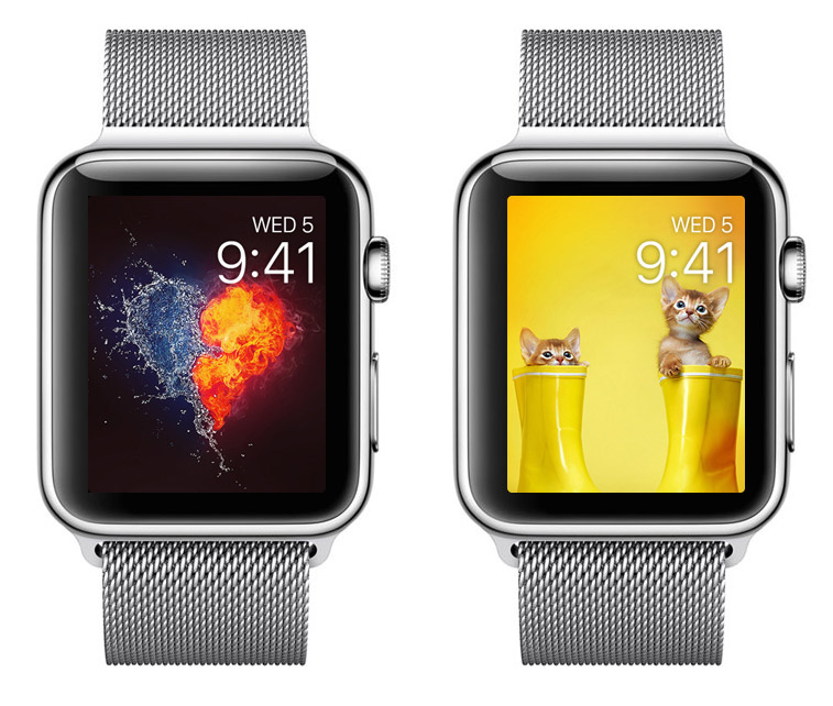 Where to find beautiful Wallpapers for Apple Watch? App Pimp Your Screen
