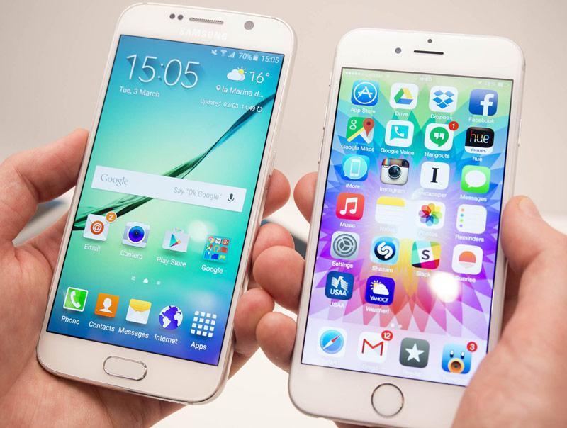 Iphone 7 vs galaxy 7 сотовый телефон samsung gt-c3752 duos отзывы