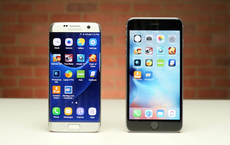 iPhone 6s confirmed its superiority over Samsung Galaxy S7
