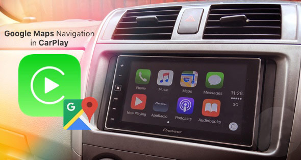 How To Use Google Maps In Navigation Mode Apple Carplay