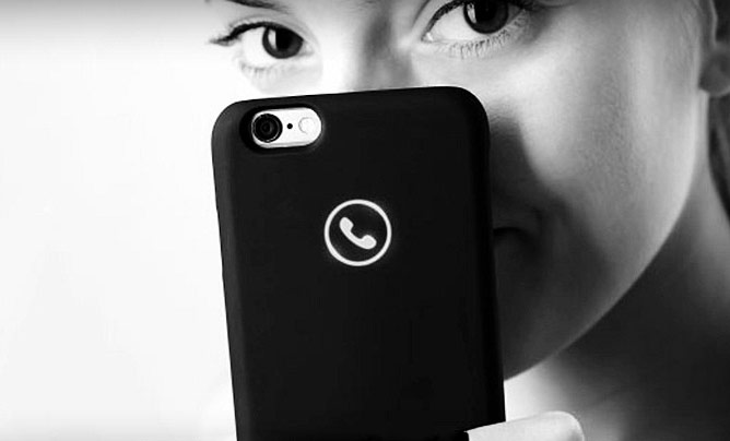 purchase cheap 10e3d 8aa95 Icon Lunecase: iPhone case with an innovative notification system