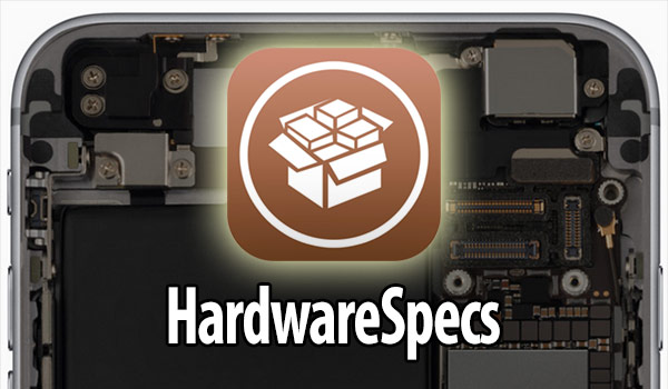 Hardware Specs will show all the features of the iPhone and iPad in