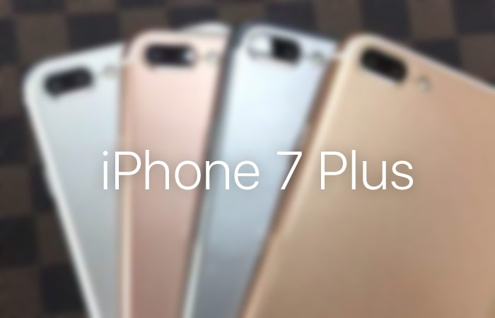 Iphone 7 Plus In Four Colors Captured In Live Photos