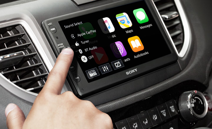 Sony has released one of the most affordable multimedia systems with support for Apple CarPlay [video]