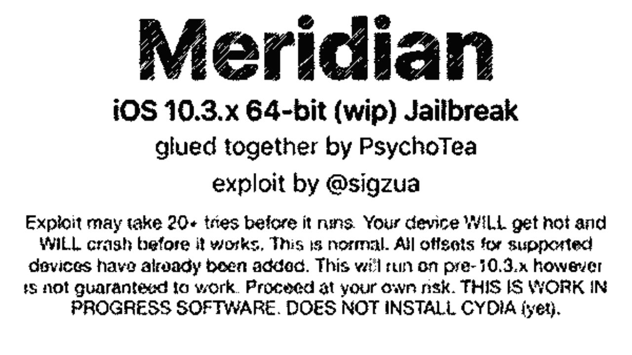 Appeared alpha version of the jailbreak for 64-bit devices