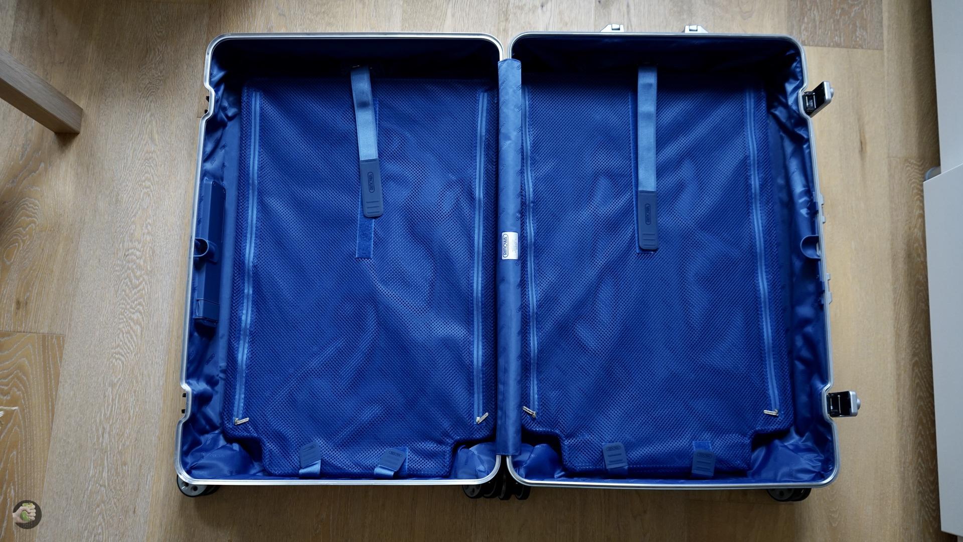 RIMOWA Topas Multiwheel Electronic Tag Luggage Review