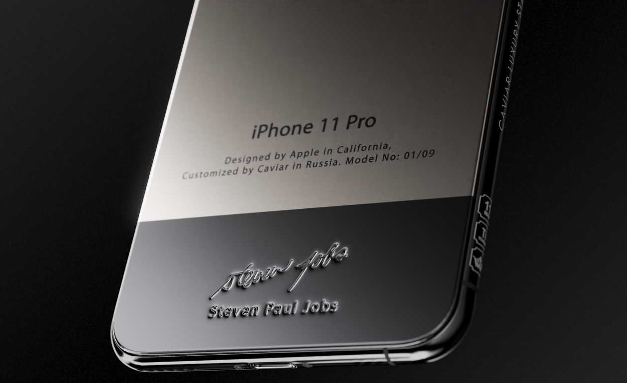 Introduced iPhone 11 Pro Superior - with Steve Jobs Turtleneck