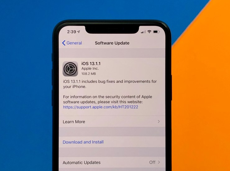 Unexpectedly, iOS 13.1.1 came out. What's new?