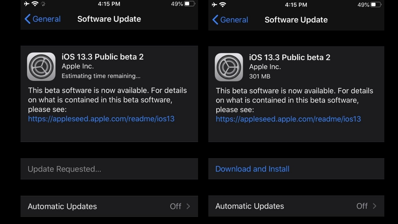iOS 13.3 vs iOS 13.2.2 - which one is faster?