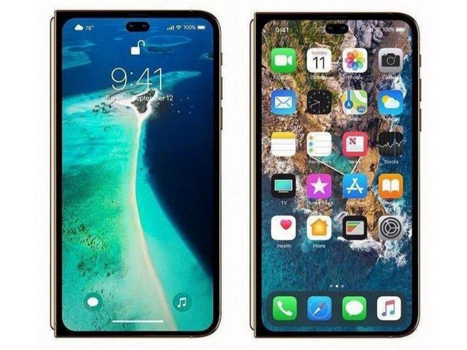 Photo of the day: what will the iPhone look like with a folding display