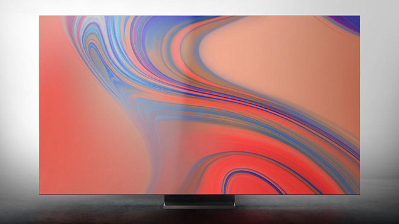 Samsung announced a frameless 8K-TV