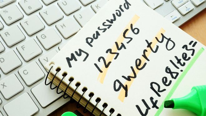 TOP 10 worst passwords of 2019