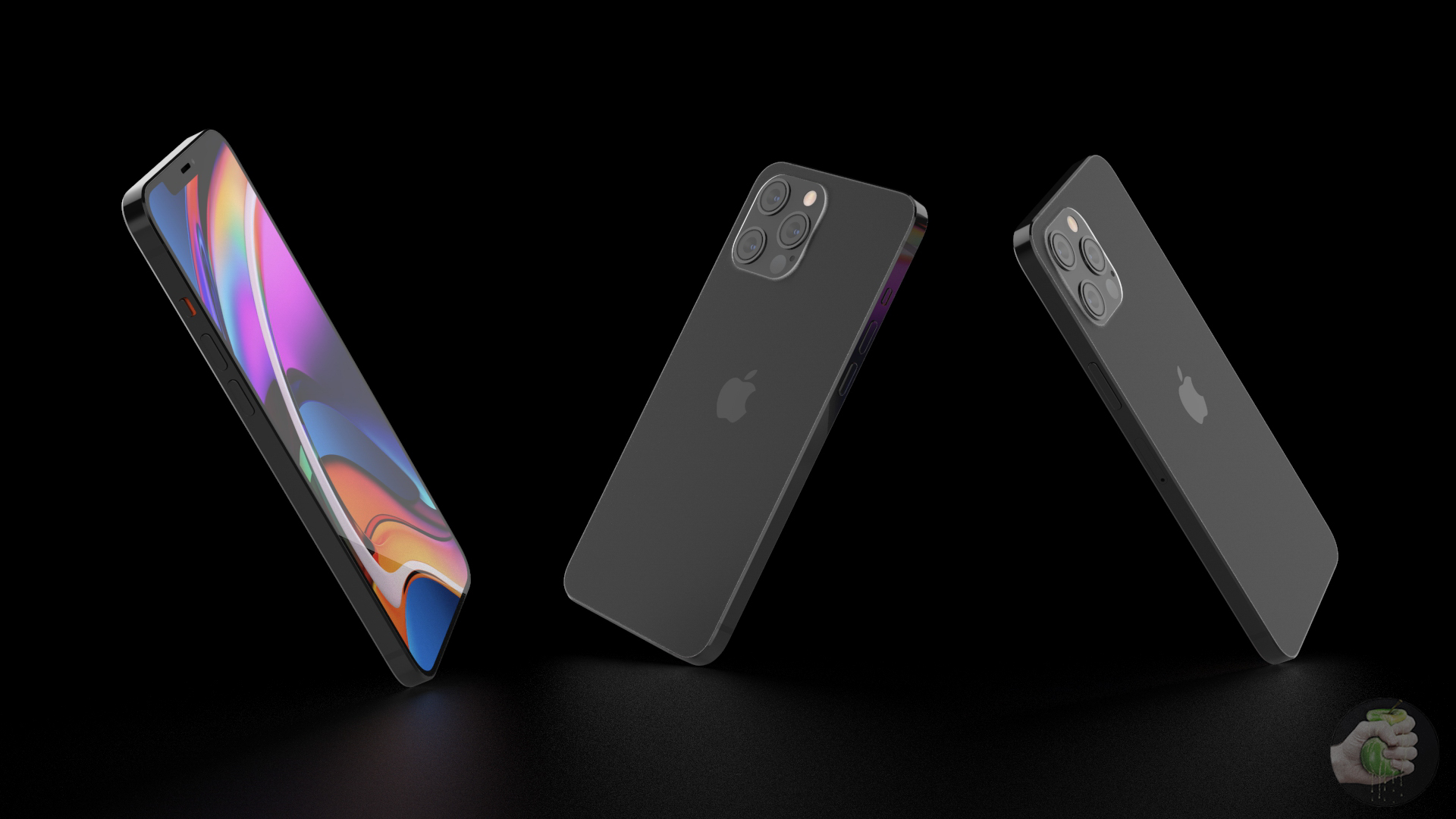 Photopost: exclusive renders of all iPhone 12